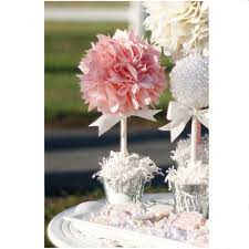 Centerpieces For Bridal Shower by Pink Centerpiece Quinceanera Centerpiece Baptism