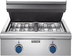 Thermadore Cooktops Thermador Pcd24ee 24 Inch Electric Griddle Cooktop With Titanium