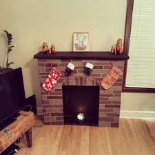 cardboard fireplace for christmas album on imgur