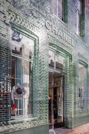 Glass Front House Stunning Glass Front Chanel Boutique In Amsterdam Pursuitist