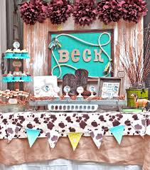 western themed table centerpieces western theme baby shower favors zone romande decoration