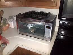 Oster Extra Large Convection Toaster Oven Turbo Oven Walmart Cuisinart 60 Cu Ft Combo Oven Silver