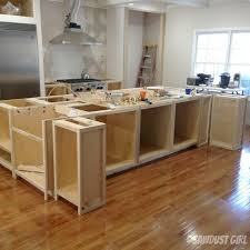make a kitchen island kitchen island from wall cabinets kitchen island decoration