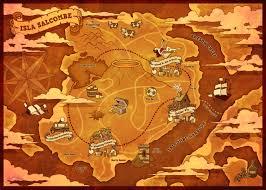 World Treasure Map by Treasure Map Illustration By Littleboyblack On Deviantart
