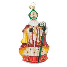 radko 1017610 st nicholas resplendence jeweled bishop santa
