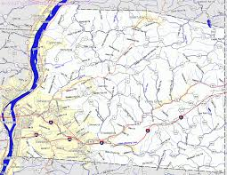 Map Of Wv Bridgehunter Com Ohio County West Virginia