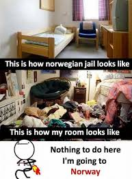 Nothing To Do Here Meme - dopl3r com memes this is how norwegian jail looks like this is