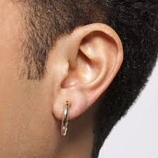 mens earring how to identify right men earrings styleskier