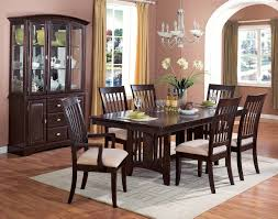 Mirror Dining Room Table Dining Room Wall Decor With Mirror Brown Wood Cabinest Wood Legs