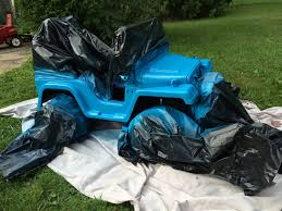 power wheels jeep customizing our power wheels with spray paint jeeps bears and