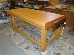 building a real woodworker s workbench 32 steps with pictures