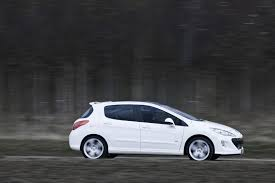peugeot 308 gti white peugeot 308 gti automotorblog