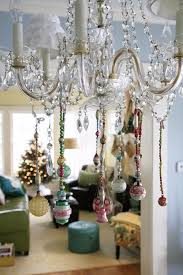 Lights And Chandeliers Top 40 Christmas Chandelier Decoration Ideas Christmas Celebrations