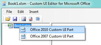 change the ribbon in excel 2007 2016