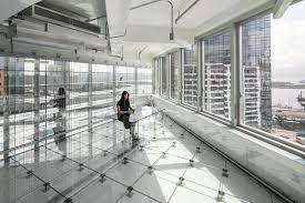 inspiring transparency with a glass office building caddigest