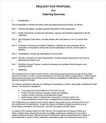 ideas collection free sample proposal letter for catering services