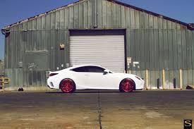 lexus rc yellow lexus rc 350 f sport with savini black di forza wheels pics