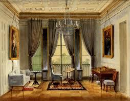 Wohnzimmer Biedermeier Modern Ferdinand Rothbart Balkonzimmer Mit Portraits Von Herzog Ernst