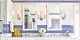 Moroccan Tile Bathroom Moroccan Bathroom House Beautiful Pinterest Favorite Pins
