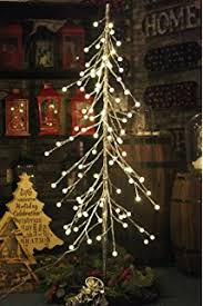96led 6ft lighted birch tree decoration for