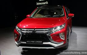 mitsubishi eclipse cross front at the 2017 geneva motor show live