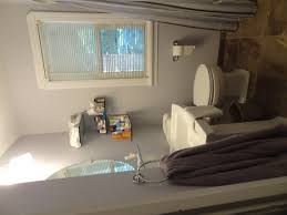Tiny Bathroom Remodel by Bathroom Best Grey Curtains Single White Wooden Window Glass And