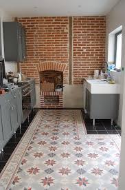 faience cuisine castorama castorama carreaux de ciment carrelage sol et mur bleu x cm lam