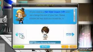 maplestory how to get conflict hairstyle maplestory hairstyles