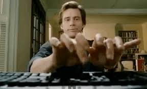 Typing Meme - bruce almighty typing gif 3 gif images download