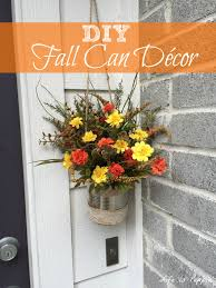 diy fall can décor life is poppin u0027