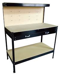 heavy duty black steel garage workbench 43 50 delivered