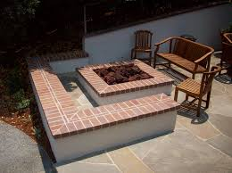 outdoor fire pit designs brick implementation of outdoor fire