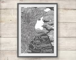 Kate Bush   Wuthering Heights   Print