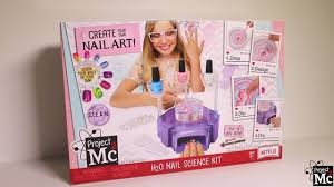 project mc h2o nail science kit demo youtube