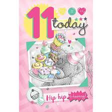 11th birthday me to you cards ebay