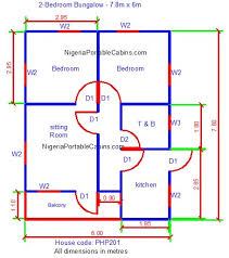 bungalow floor plans nigeria free bungalow house plans free