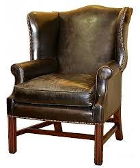 Chesterfield Wing Armchair Chippendale Traditional English Chesterfield Wing Chair Plain Ba