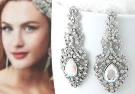 Famosos Acessórios - Brincos para noivas: Como Usar? - Shadevenne Alta Costura &AB74