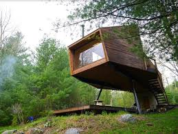 modern willow treehouse in new york