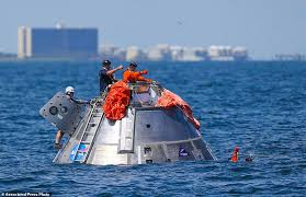 Texas how long would it take to travel to mars images Mars mission astronauts rehearse water landings off texas daily jpg