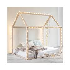 Nordic Decoration Home by Beech Wood House Bed Natural Kids S Kids Rooms And Nordic Design