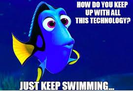Technology Meme - technology talks in education hats of the technology integration