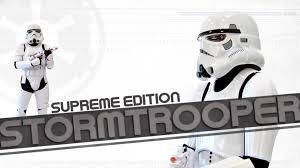 halloween costumes stormtrooper supreme edition stormtrooper costume halloweencostumes com youtube