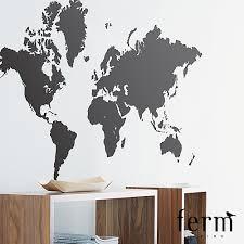28 world wall sticker world map wall decal a different world wall sticker world map wall sticker ferm living modernoutlet