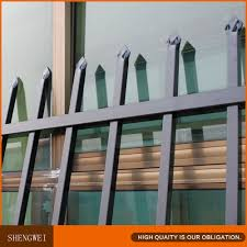 metal spear top fencing decoration metal trellis wrought iron