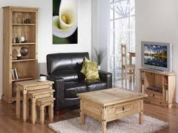 Living Room Accent Tables Rustic Wood Living Room Furniture Maple Flooring Shiny Black