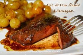cuisiner le foie de veau foie de veau flambé à l armagnac petits plats entre amis