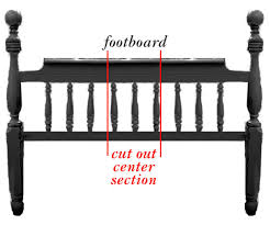 Bench Made From Bed Headboard 9 Creative Low Cost Upgrades From Our Favorite Bloggers Bed