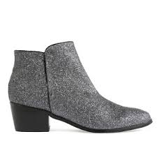 s zip ankle boots uk womens zip up pyper style ankle boots in pewter silver