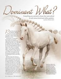 10 things you need to know about dominant white apha